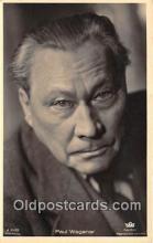 act023090 - Paul Wegener Movie Actor / Actress, Entertainment Postcard Post Card