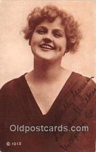 act023100 - Lillian Walker Movie Actor / Actress, Entertainment Postcard Post Card