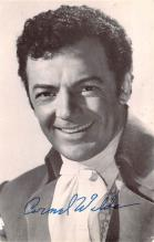 act023129 - Cornel Wilde, Star of the 20th Century Fox Movie Star Actor Actress Film Star Postcard, Old Vintage Antique Post Card