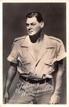 act023135 - Johnny Weissmuller Movie Star Actor Actress Film Star Postcard, Old Vintage Antique Post Card
