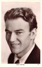 act023138 - John Wayne Movie Star Actor Actress Film Star Postcard, Old Vintage Antique Post Card
