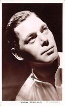 act023141 - Johnny Weissmuller Movie Star Actor Actress Film Star Postcard, Old Vintage Antique Post Card