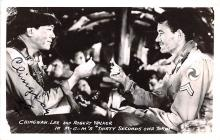 act023148 - Chingwah Lee & Robert Walker, MGM's Thirty Second Over Tokyo Movie Star Actor Actress Film Star Postcard, Old Vintage Antique Post Card