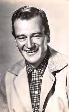 act023155 - John Wayne Movie Star Actor Actress Film Star Postcard, Old Vintage Antique Post Card