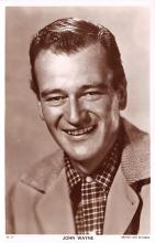 act023156 - John Wayne Movie Star Actor Actress Film Star Postcard, Old Vintage Antique Post Card