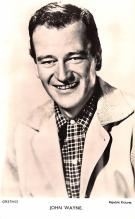 act023158 - John Wayne Movie Star Actor Actress Film Star Postcard, Old Vintage Antique Post Card