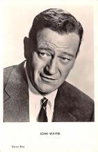 act023161 - John Wayne Movie Star Actor Actress Film Star Postcard, Old Vintage Antique Post Card