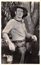 act023162 - John Wayne Movie Star Actor Actress Film Star Postcard, Old Vintage Antique Post Card