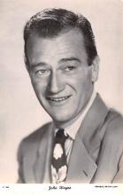 act023163 - John Wayne Movie Star Actor Actress Film Star Postcard, Old Vintage Antique Post Card