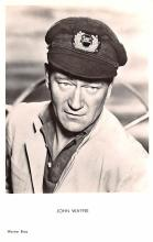 act023164 - John Wayne Movie Star Actor Actress Film Star Postcard, Old Vintage Antique Post Card