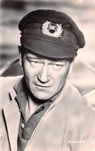act023167 - John Wayne Movie Star Actor Actress Film Star Postcard, Old Vintage Antique Post Card