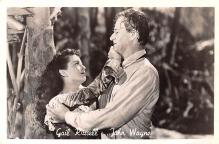 act023169 - Gail Russell & John Wayne Movie Star Actor Actress Film Star Postcard, Old Vintage Antique Post Card