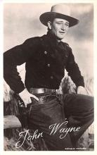 act023176 - John Wayne Movie Star Actor Actress Film Star Postcard, Old Vintage Antique Post Card