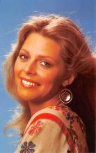act023181 - Lindsay Wagner Movie Star Actor Actress Film Star Postcard, Old Vintage Antique Post Card