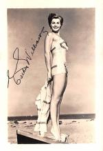 act023183 - Esther Williams Movie Star Actor Actress Film Star Postcard, Old Vintage Antique Post Card