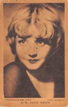 act023188 - Alice White Movie Star Actor Actress Film Star Postcard, Old Vintage Antique Post Card