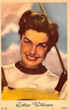 act023189 - Esther Williams Movie Star Actor Actress Film Star Postcard, Old Vintage Antique Post Card