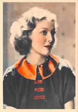 act024021 - Loretta Young Movie Star Actor Actress Film Star Postcard, Old Vintage Antique Post Card