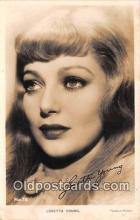 act025019 - Loretta Young Movie Actor / Actress, Entertainment Postcard Post Card