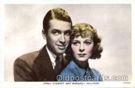 act027003 - James Stewart & Margaret Sullivan Postcard, Post Card