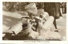 act027007 - Adolphe Menjou & Kathryn Carver Postcard, Post Card