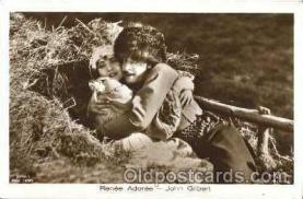 act027008 - Renee Adoree & John Gilbert Postcard, Post Card