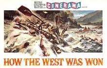 act027068 - Cinerama How the West Was Won Movie Star Actor Actress Film Star Postcard, Old Vintage Antique Post Card