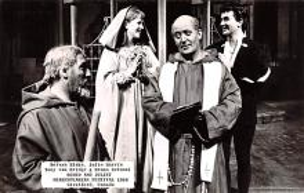 act027087 - Mervyn Black, Julie Harris, Romeo & Juliet, Shakespearean Festival 1960 Movie Star Actor Actress Film Star Postcard, Old Vintage Antique Post Card