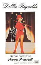 act027126 - Debbie Reynolds, Harve Presnell Movie Star Actor Actress Film Star Postcard, Old Vintage Antique Post Card