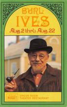 act027143 - Burl Ives Movie Star Actor Actress Film Star Postcard, Old Vintage Antique Post Card
