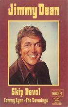 act027144 - Jimmy Dean, Skip Devol Movie Star Actor Actress Film Star Postcard, Old Vintage Antique Post Card