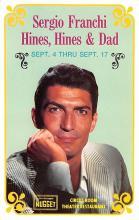 act027145 - Sergio Franchi Hines, Hines & Dad Movie Star Actor Actress Film Star Postcard, Old Vintage Antique Post Card