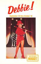 act027154 - Debbie Reynolds, John Ascuaga's Nugget Movie Star Actor Actress Film Star Postcard, Old Vintage Antique Post Card