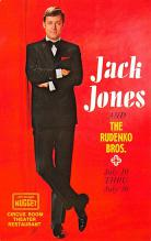 act027156 - Jack Jones and the Rudenko Bros Movie Star Actor Actress Film Star Postcard, Old Vintage Antique Post Card