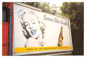 act027200 - Marilyn Monroe, Holsten Pils Movie Star Actor Actress Film Star Postcard, Old Vintage Antique Post Card