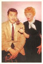 act027205 - Lucille Ball, Desi Arnaz Show Movie Star Actor Actress Film Star Postcard, Old Vintage Antique Post Card