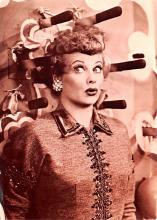 act027233 - Lucille Ball Movie Star Actor Actress Film Star Postcard, Old Vintage Antique Post Card