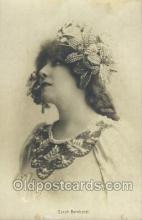 act050108 - Sarah Bernhardt Movie Actor / Actress, Entertainment Postcard Post Card
