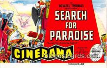act075016 - Search for Paradise Movie Actor / Actress, Entertainment Postcard Post Card