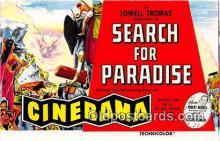 act075019 - Search for Paradise Movie Actor / Actress, Entertainment Postcard Post Card