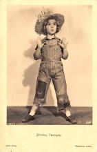 act220001 - Child Movie Star Shirley Temple Post Card Old Vintage Antique