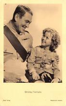 act220003 - Child Movie Star Shirley Temple Post Card Old Vintage Antique