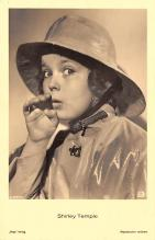 act220005 - Child Movie Star Shirley Temple Post Card Old Vintage Antique