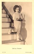 act220015 - Child Movie Star Shirley Temple Post Card Old Vintage Antique