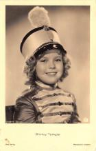 act220017 - Child Movie Star Shirley Temple Post Card Old Vintage Antique