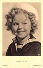 act220019 - Child Movie Star Shirley Temple Post Card Old Vintage Antique