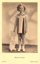 act220027 - Child Movie Star Shirley Temple Post Card Old Vintage Antique