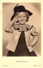 act220029 - Child Movie Star Shirley Temple Post Card Old Vintage Antique