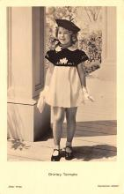 act220031 - Child Movie Star Shirley Temple Post Card Old Vintage Antique