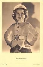 act220033 - Child Movie Star Shirley Temple Post Card Old Vintage Antique